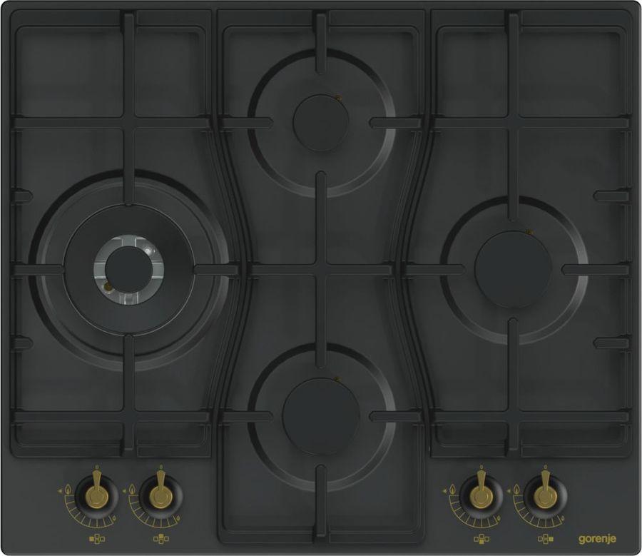 Варочная панель GORENJE GW6D41CLB,  независимая,  черный