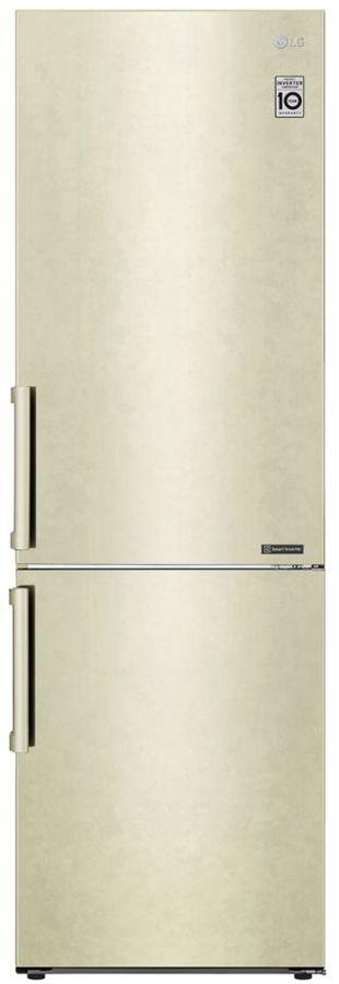 Холодильник LG GA-B459BECL,  двухкамерный, бежевый