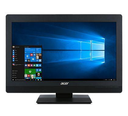 "Моноблок ACER Veriton Z4820G, 23.8"", Intel Core i5 7600, 8Гб, 500Гб, Intel HD Graphics 630, DVD-RW, Windows 10 Professional, черный [dq.vpjer.078]"