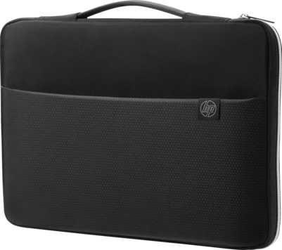 """Чехол для ноутбука 17.3"""" HP Carry Sleeve, черный/серебристый [дубль использовать 1086328]"""