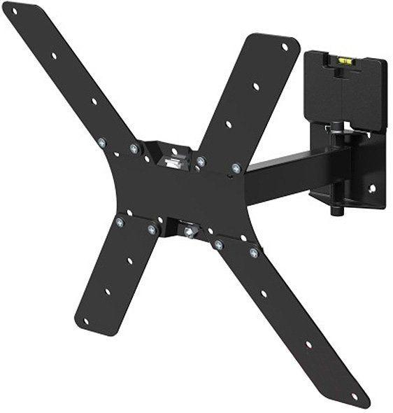 """Кронштейн для телевизора Holder LCD-5520-B черный 32""""-55"""" макс.45кг настенный поворотно-выдвижной и"""