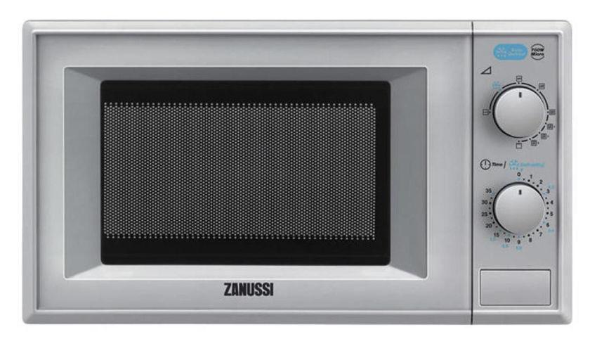 Микроволновая Печь Zanussi ZFG20110SA 19.6л. 700Вт серебристый