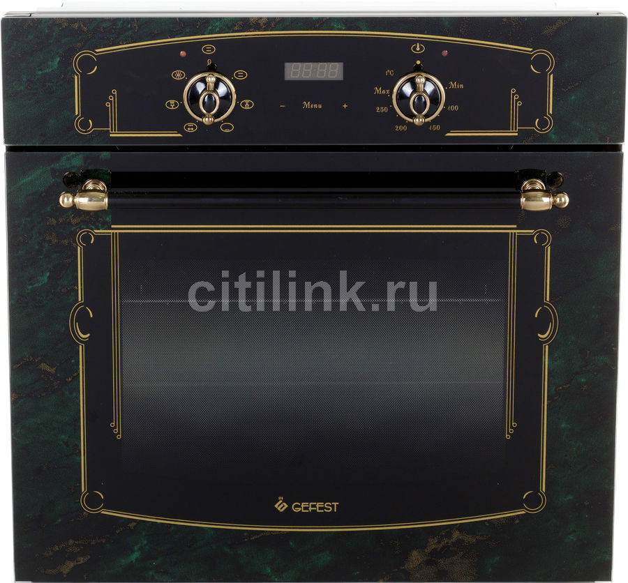 Духовой шкаф GEFEST ЭДВ ДА 622-02 К69,  зеленый