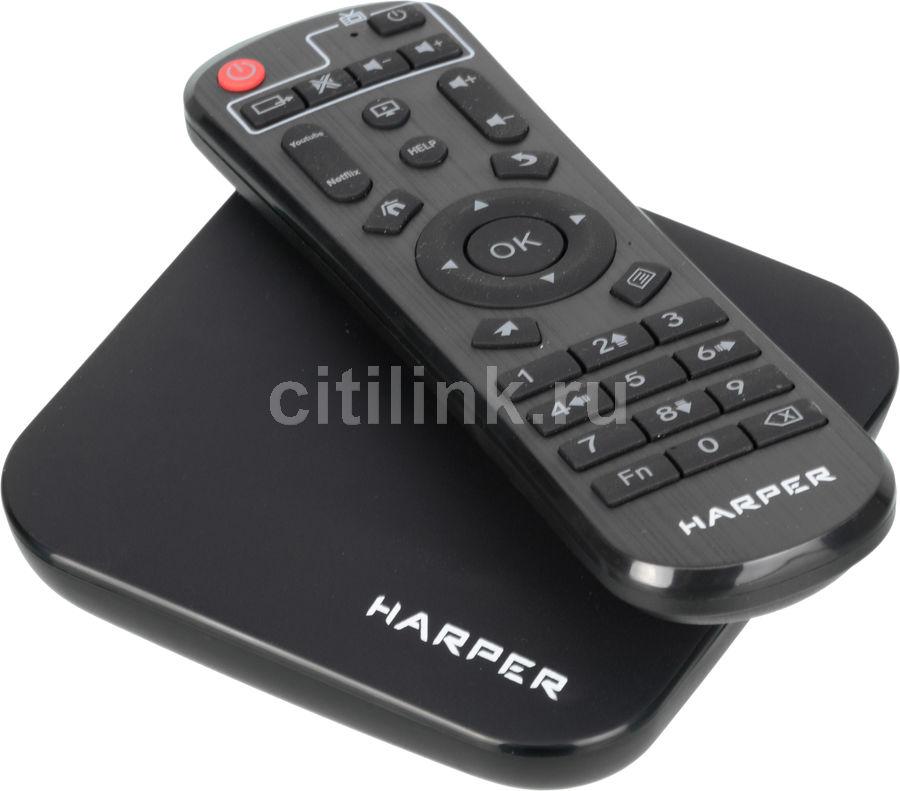 Медиаплеер HARPER ABX-332,  черный