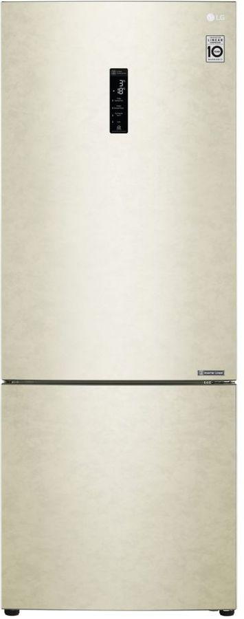 Холодильник LG GC-B569PECZ,  двухкамерный, бежевый