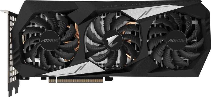 Видеокарта GIGABYTE nVidia  GeForce GTX 1660TI ,  GV-N166TAORUS-6GD,  6Гб, GDDR6, Ret