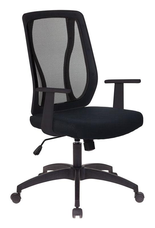 Кресло БЮРОКРАТ MC-411T, на колесиках, сетка/ткань [mc-411t/26-28]