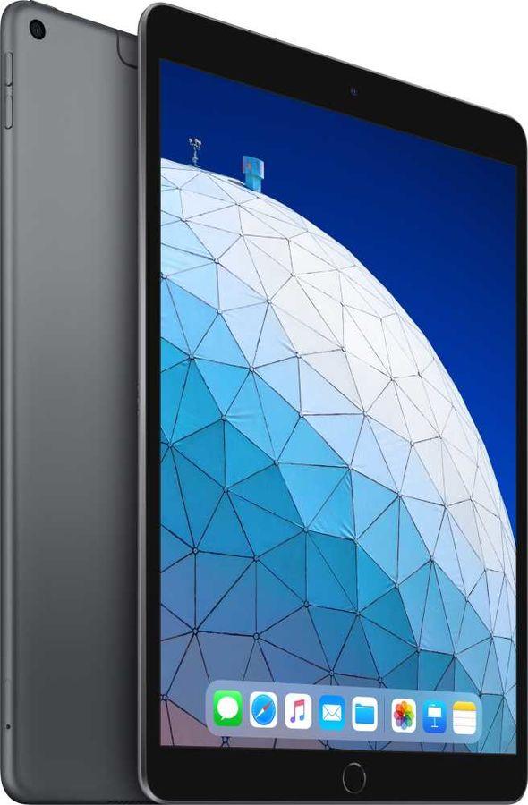 Планшет APPLE iPad Air 2019 64Gb Wi-Fi + Cellular MV0D2RU/A,  2GB, 64GB, 3G,  4G,  iOS темно-серый