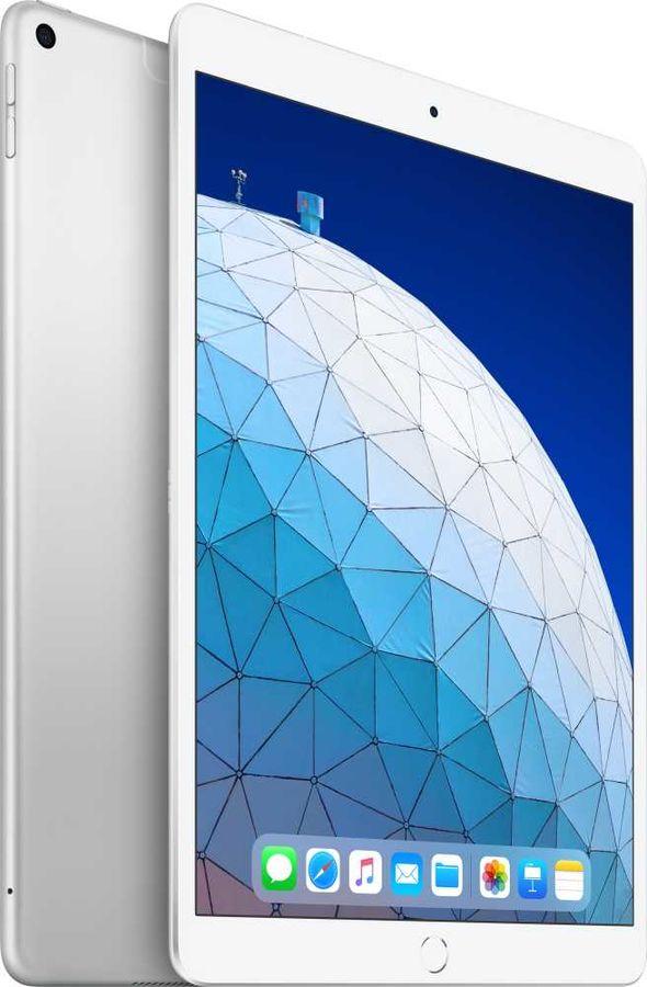 Планшет APPLE iPad Air 2019 64Gb Wi-Fi + Cellular MV0E2RU/A,  2GB, 64GB, 3G,  4G,  iOS серебристый