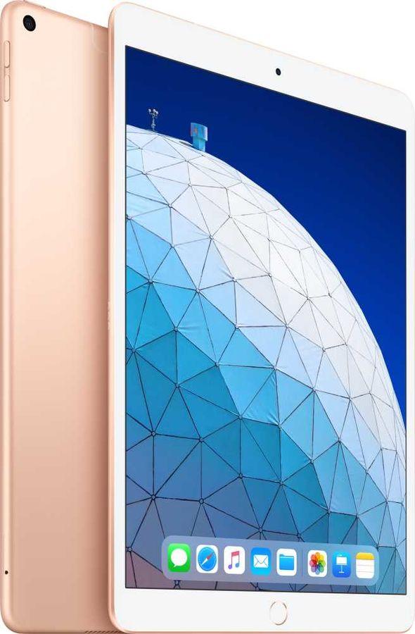 Планшет APPLE iPad Air 2019 64Gb Wi-Fi + Cellular MV0F2RU/A,  2GB, 64GB, 3G,  4G,  iOS золотистый