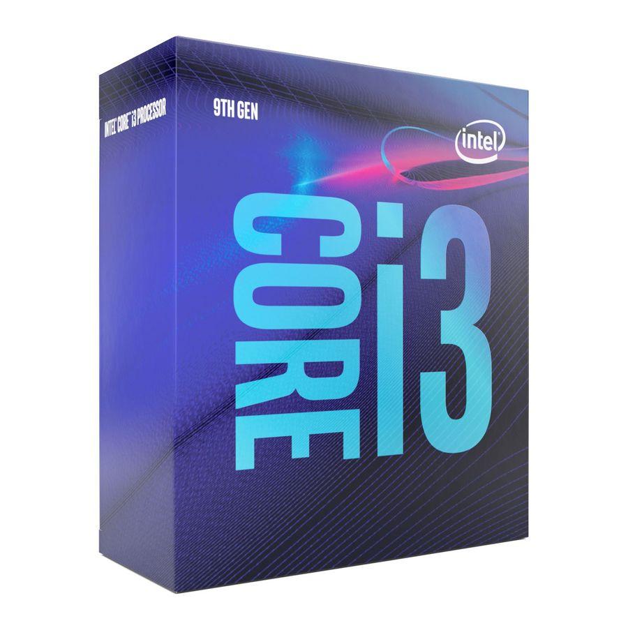 Процессор INTEL Core i3 9100, LGA 1151v2,  BOX [bx80684i39100 s rczv]