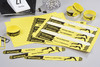 Пленка Avery Zweckform L4001-10 265x18мм 10шт на листе/198г/м2/10л./желтый/матовое самоклей. для лаз вид 3