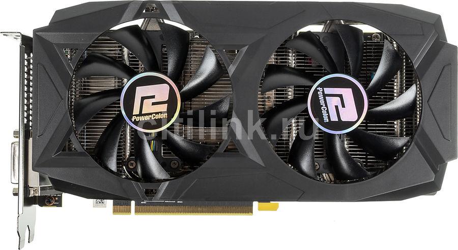 Видеокарта POWERCOLOR AMD  Radeon RX 580 ,  AXRX 580 8GBD5-3DHDV2/OC,  8Гб, GDDR5, OC,  Ret