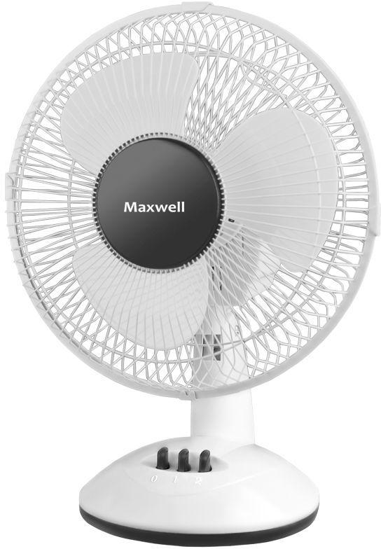 Вентилятор настольный MAXWELL MW-3547,  белый