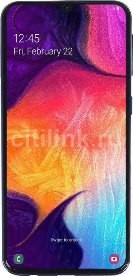 Смартфон SAMSUNG Galaxy A40 64Gb,  SM-A405F,  синий