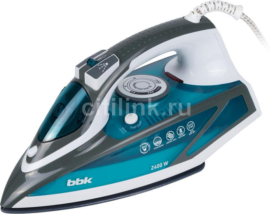 Утюг BBK ISE-2402,  2400Вт,  синий