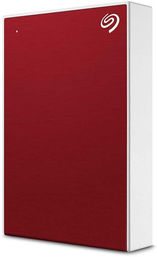 Внешний жесткий диск SEAGATE Backup Plus STHP4000403, 4Тб, красный