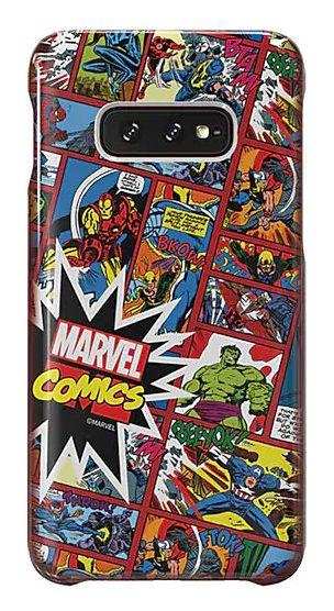 Чехол (клип-кейс) SAMSUNG Marvel Case MComics, для Samsung Galaxy S10e, красный [gp-g970hifghwh]