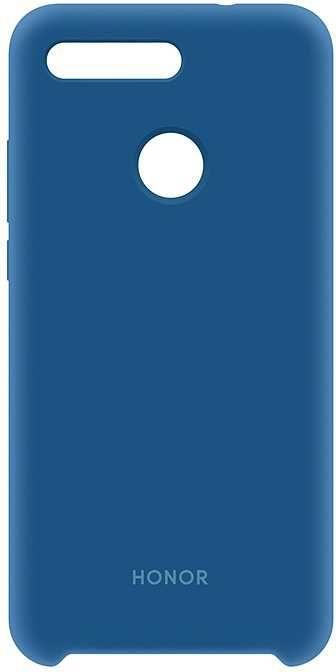 Чехол (клип-кейс) HONOR Silicon cover, для Honor View 20, синий [51992808]