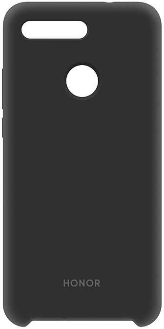 Чехол (клип-кейс) HONOR Silicon cover, для Honor View 20, черный [51992810]