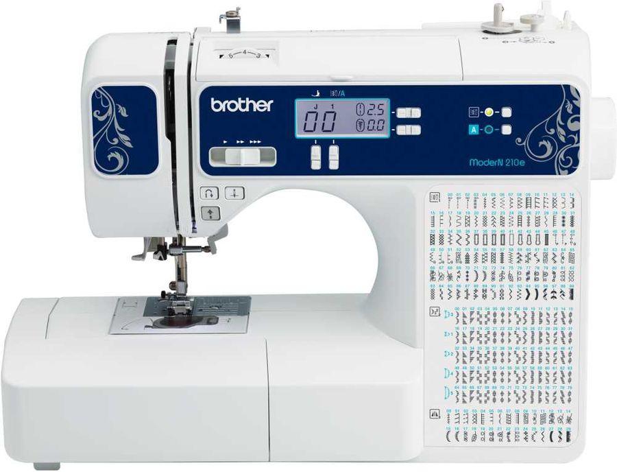 Швейная машина BROTHER ModerN 210e белый [modern210e]