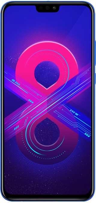 Смартфон HONOR 8X 64Gb,  синий фантом