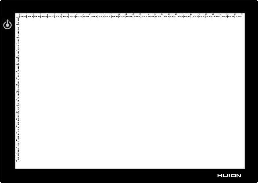 Светодиодный планшет HUION L4S А4 черный