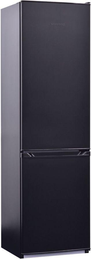 Холодильник NORDFROST NRB 110 232,  двухкамерный, черный [00000256541]