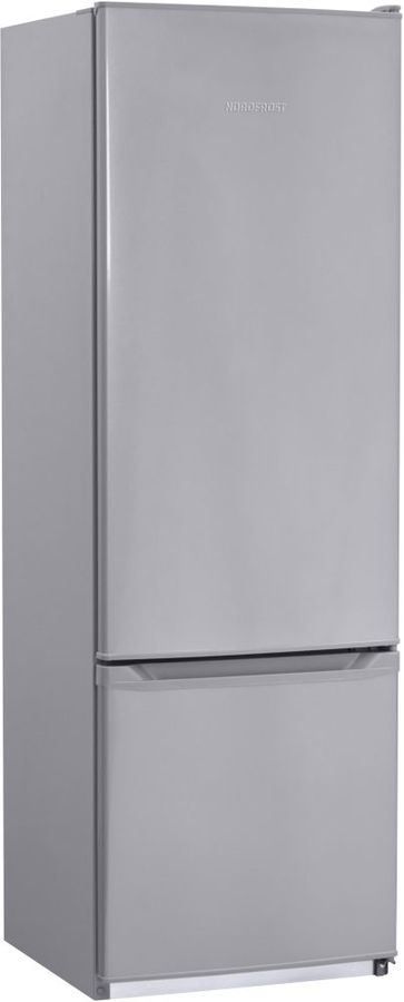 Холодильник NORDFROST NRB 118 332,  двухкамерный, серебристый [00000256551]