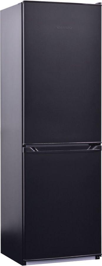 Холодильник NORDFROST NRB 119 232,  двухкамерный, черный [00000256553]