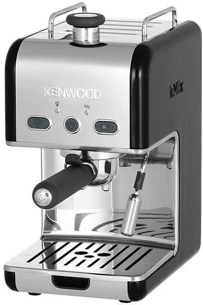 Кофеварка KENWOOD ES020BK,  эспрессо,  черный  [0w13211028]