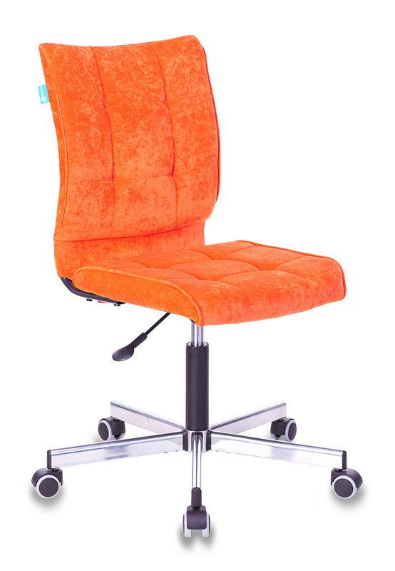 Кресло БЮРОКРАТ CH-330M/LT-11, на колесиках, ткань, оранжевый
