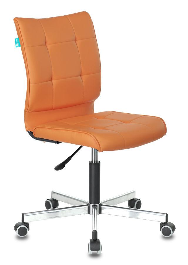 Кресло БЮРОКРАТ CH-330M/OR-20, на колесиках, искусственная кожа, оранжевый