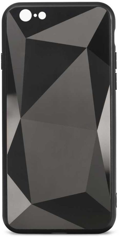 Чехол (клип-кейс) GRESSO Даймонд, для Apple iPhone 6/6S, черный [gr17dmn022]