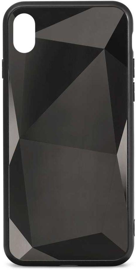 Чехол (клип-кейс)  Gresso Даймонд, для Apple iPhone XR, черный [gr17dmn028]