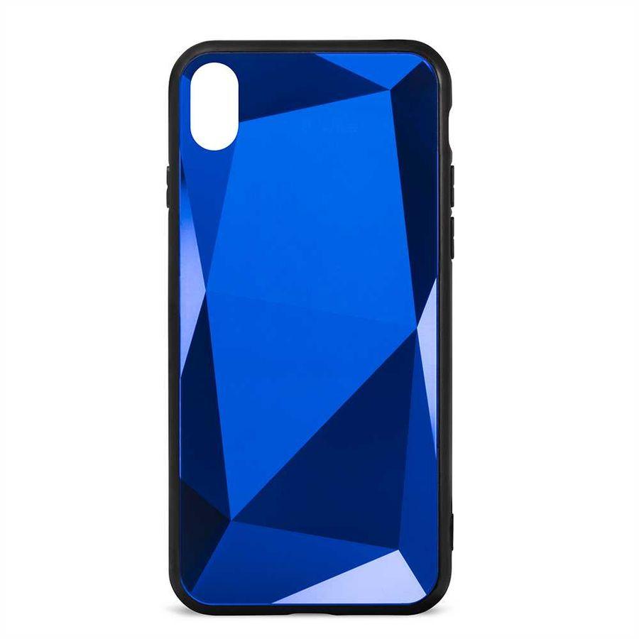 Чехол (клип-кейс)  Gresso Даймонд, для Apple iPhone XR, синий [gr17dmn029]