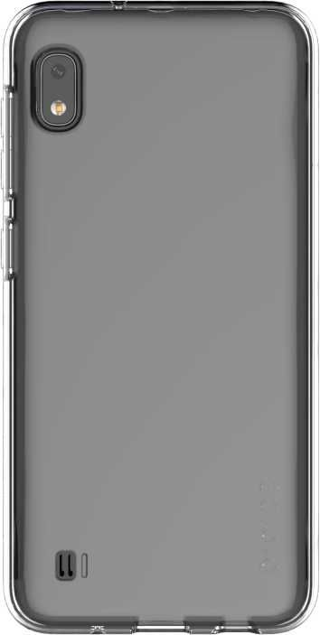 Чехол (клип-кейс) SAMSUNG araree A cover, для Samsung Galaxy A10, прозрачный [gp-fpa105kdatr]