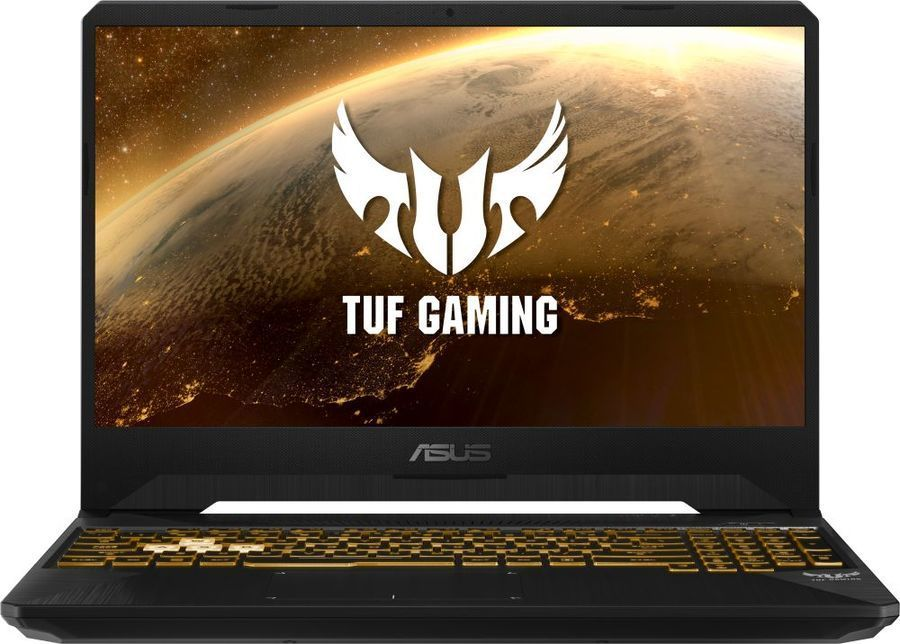 "Ноутбук ASUS TUF Gaming FX505GD-BQ254T, 15.6"",  IPS, Intel  Core i5  8300H 2.3ГГц, 16Гб, 1000Гб,  256Гб SSD,  nVidia GeForce  GTX 1050 - 4096 Мб, Windows 10, 90NR00T1-M04720,  темно-серый"