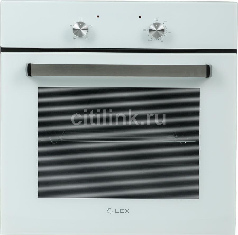 Духовой шкаф LEX EDM 040 WH,  белый