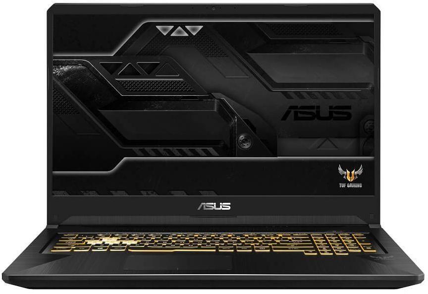 "Ноутбук ASUS TUF Gaming FX705GE-EW169, 17.3"",  IPS, Intel  Core i7  8750H 2.2ГГц, 8Гб, 1000Гб,  nVidia GeForce  GTX 1050 Ti - 4096 Мб, Free DOS, 90NR00Z1-M03990,  темно-серый"