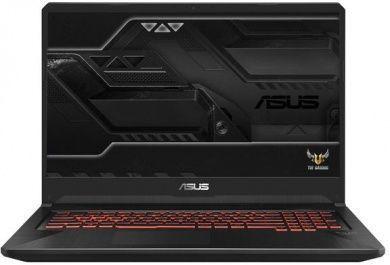 "Ноутбук ASUS TUF Gaming FX705GD-EW188, 17.3"",  IPS, Intel  Core i7  8750H 2.2ГГц, 8Гб, 1000Гб,  nVidia GeForce  GTX 1050 - 4096 Мб, Free DOS, 90NR0112-M04350,  черный"