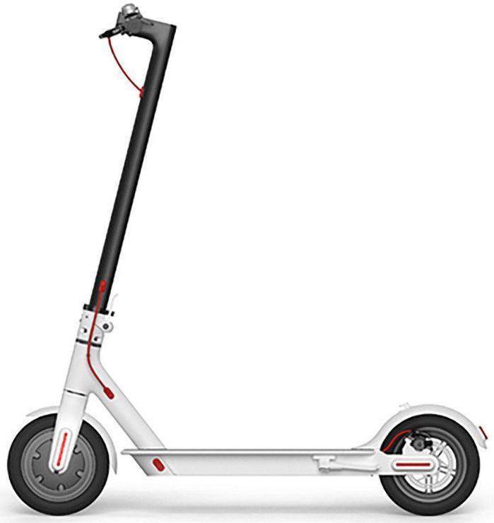 Электросамокат XIAOMI Mi Electric Scooter FBC4003GL,  7800mAh,  белый