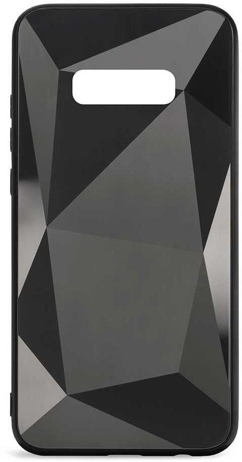 Чехол (клип-кейс) GRESSO Даймонд, для Samsung Galaxy S10e, черный [gr17dmn012]