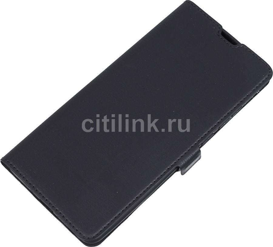 Чехол (флип-кейс) DF hwFlip-63, для Huawei P30 Pro, черный