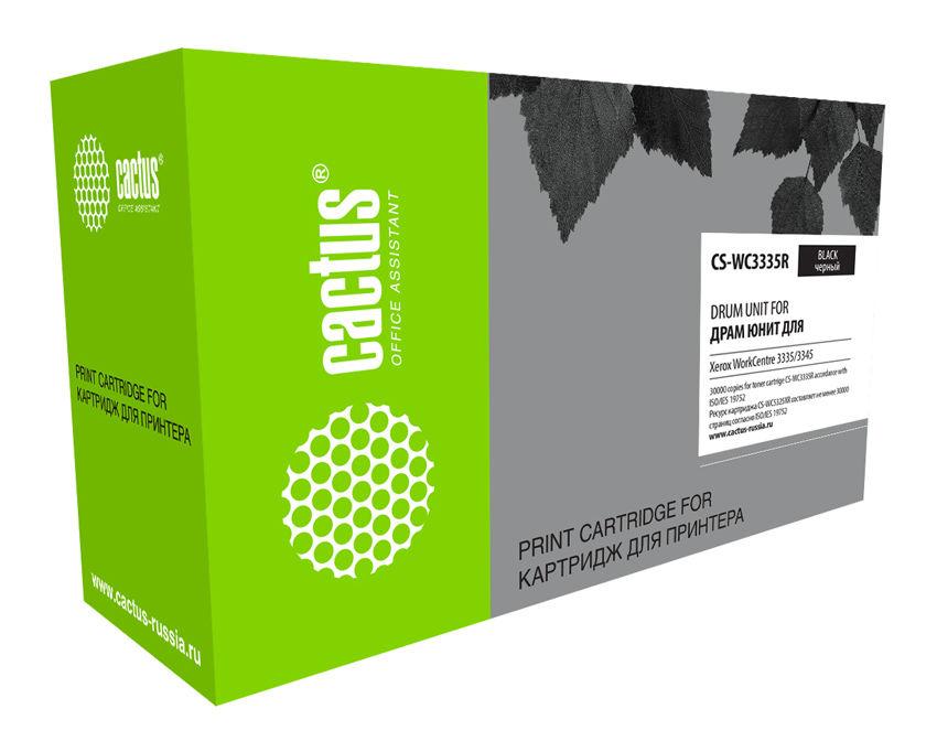 Блок фотобарабана Cactus CS-WC3335R ч/б:30000стр. для WC3335/3345 Xerox