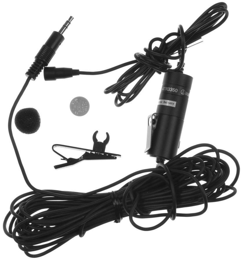 Микрофон AUDIO-TECHNICA ATR3350,  черный