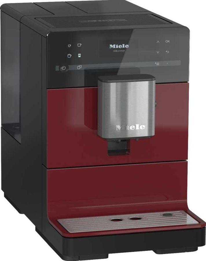 Кофемашина MIELE CM5300,  черный/красный