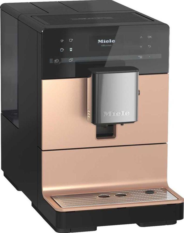 Кофемашина MIELE CM5500,  черный/розовое золото