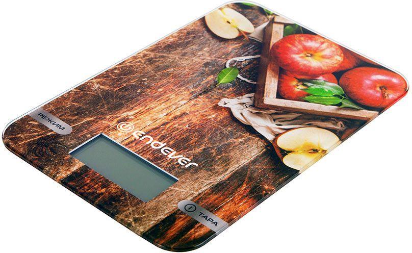 Весы кухонные ENDEVER Chief 507,  рисунок/яблоко