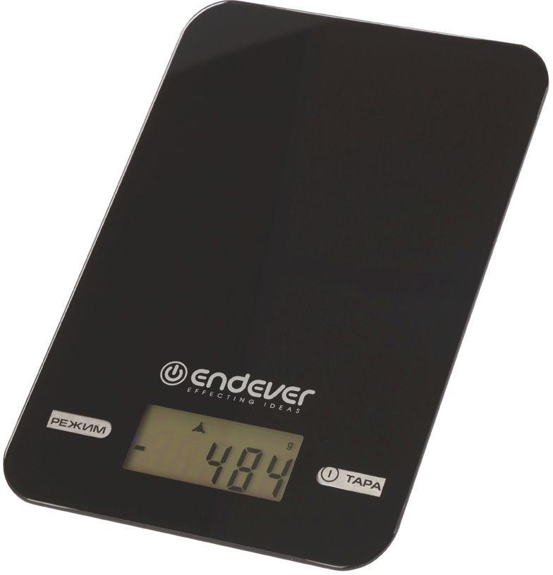 Весы кухонные ENDEVER Skyline KS-527,  черный
